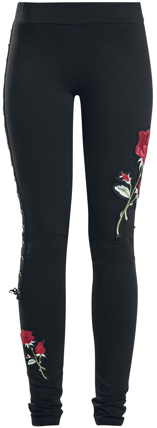 738352841c54d2 Rose Corset Legging | Vixxsin Leggings | EMP