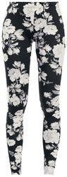 Ladies Flower Leggings