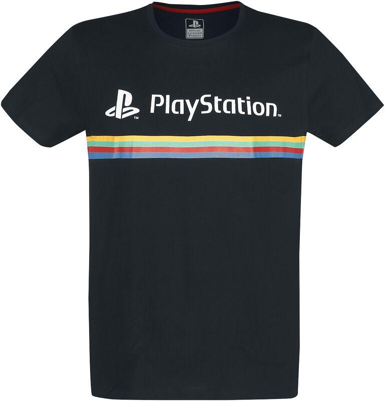 Playstation Logo Colour Stripe