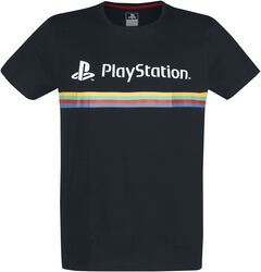 Playstation Logo Color Stripe