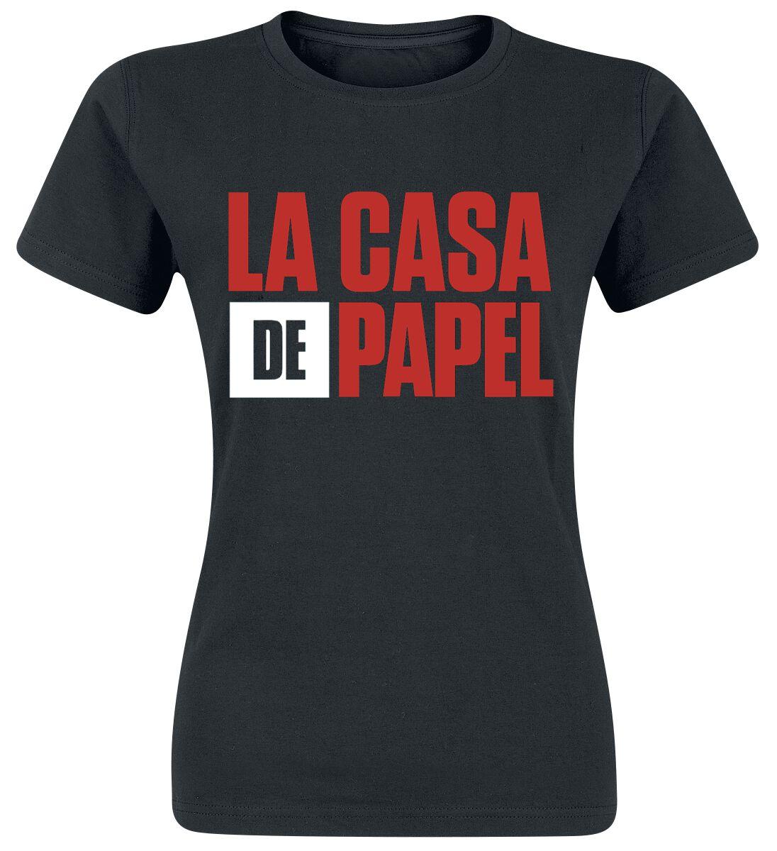 Logo La Casa De Papel T Shirt Emp