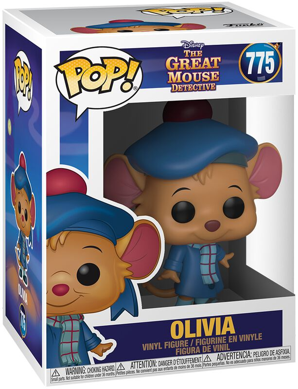 Basil the Great Mouse Detective Olivia Vinyl Figure 775