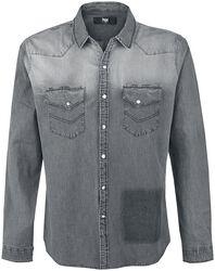 Grey Washed Shirt