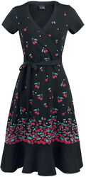 Falling Cherries Wrapdress