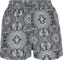 Ladies AOP Viscose Resort Shorts