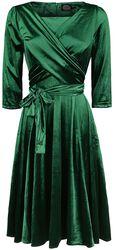 Elegant Emerald Swing Dress
