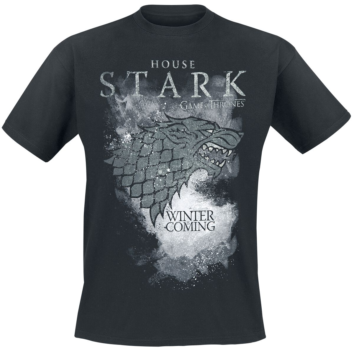 f24b0aeb6 House Stark - Winter Is Coming | Game Of Thrones T-Shirt | EMP