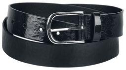 Faux Leather Belt Flora