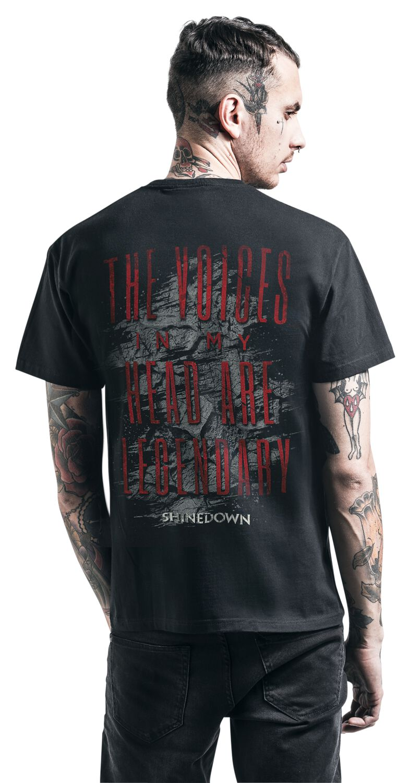 ff4b7846 Voices | Shinedown T-Shirt | EMP
