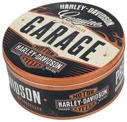 Garage - Round Storage Tin