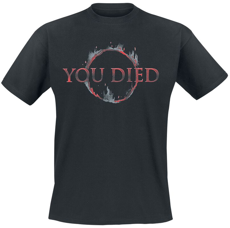 You died