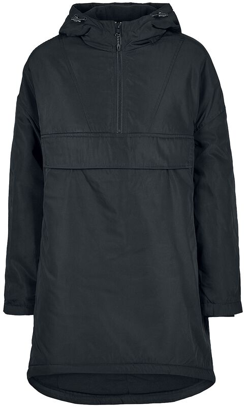 Ladies Long Oversized Pull Over Jacket