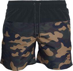 Block Swim Shorts
