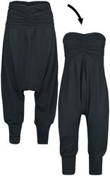 2 in 1: Harem Trousers and Jumpsuit