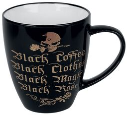 Black Coffee, Black Clothes, Black Magic, Black Rose