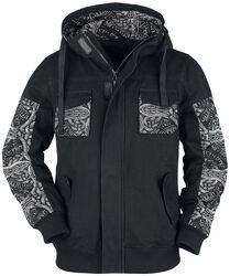 Grey/Black Jacket with Print