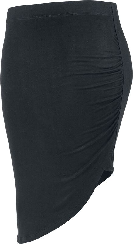 Ladies Asymmetric Viscose Skirt
