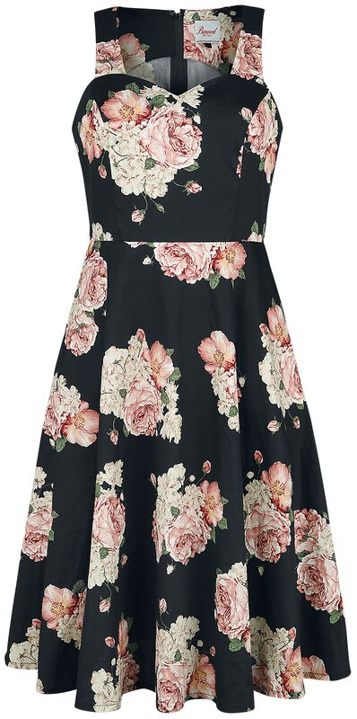 English Rose Fit & Flare Dress