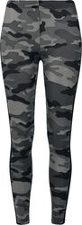 Ladies Camo Stripe Leggings