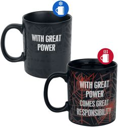 With Great Power - Heat-Change mug