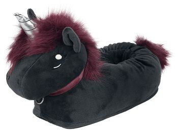 Corimori - Ruby Punk Unicorn Slippers