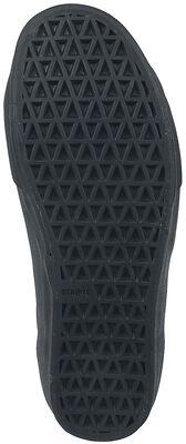 Logan Black Black Leather Suede