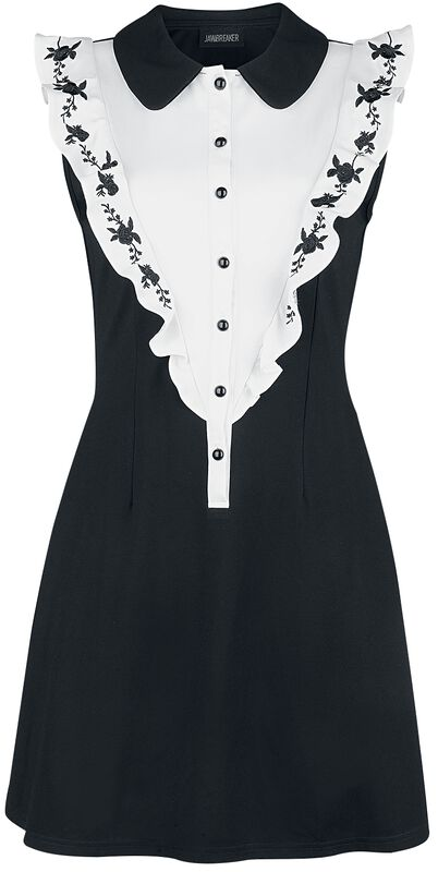Button Down Knit Dress