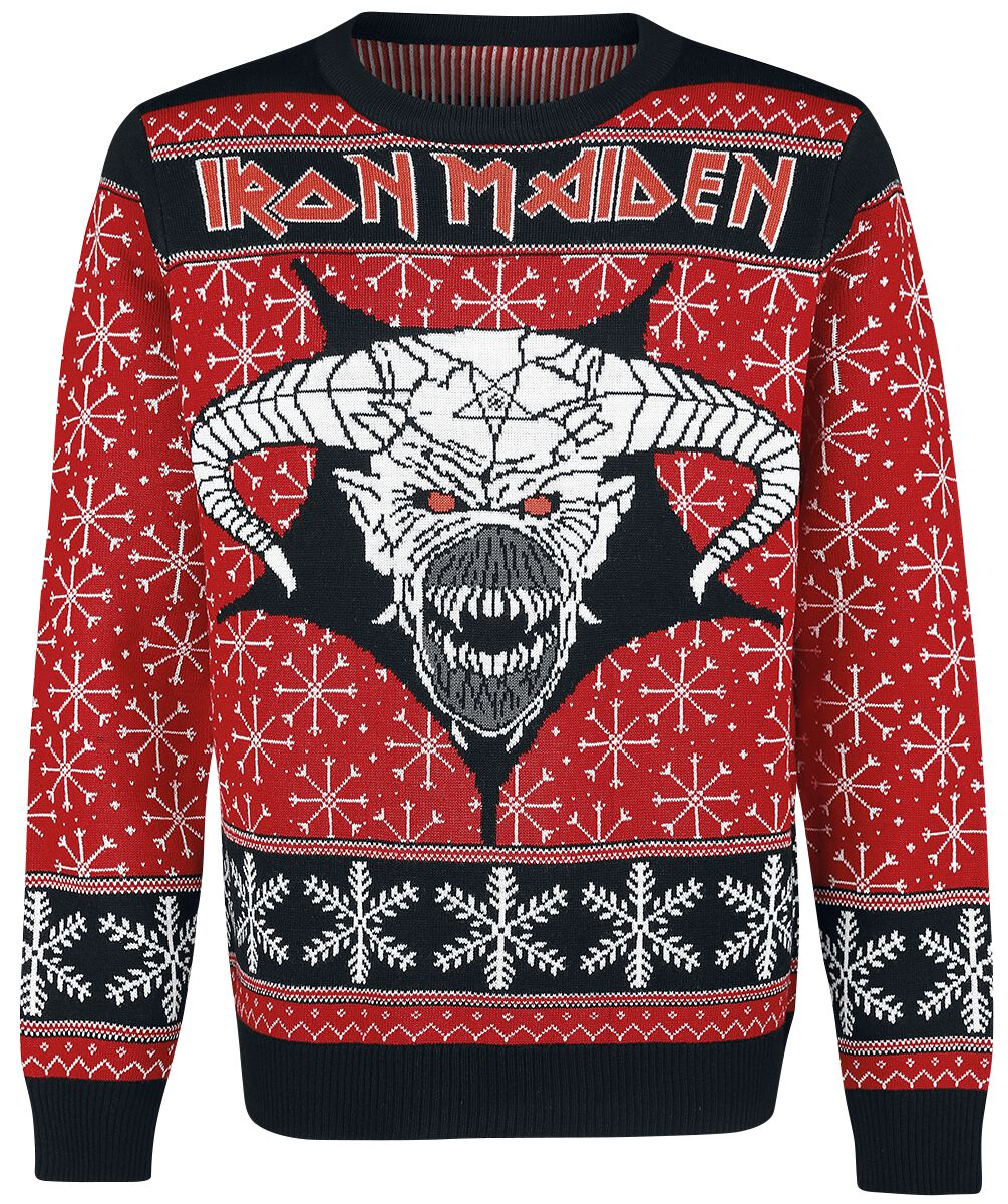 Holiday Sweater 2018 Iron Maiden Christmas Jumper Emp