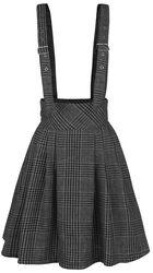 Grey Days High Waisted Skirt