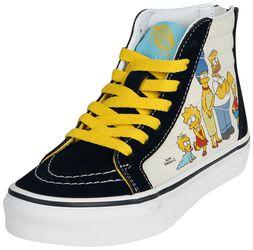 The Simpsons - 1987 - 2020 SK8-Hi Zip