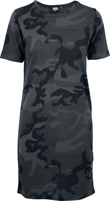 Ladies Camo Tee Dress
