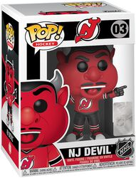 NHL Mascots New Jersey Devils - NJ Devil - Vinyl Figure 03
