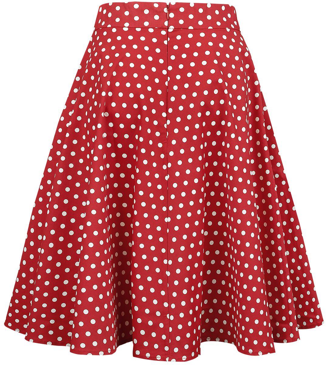 6f4973053e Shirley High Waist Full Circle Polka Dot Skirt | Dolly and Dotty ...