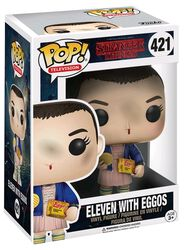 Eleven with Eggos (Chase Edition Possible) Vinyl Figure 421