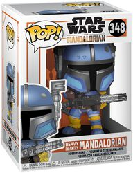 The Mandalorian - Heavy Infantry Mandalorian Vinyl Figure 348