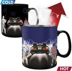 Time Machine - Heat-Change Mug