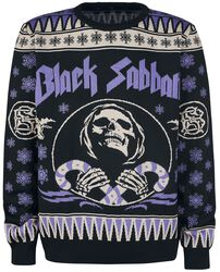 holiday sweater - Heavy Metal Ugly Christmas Sweaters