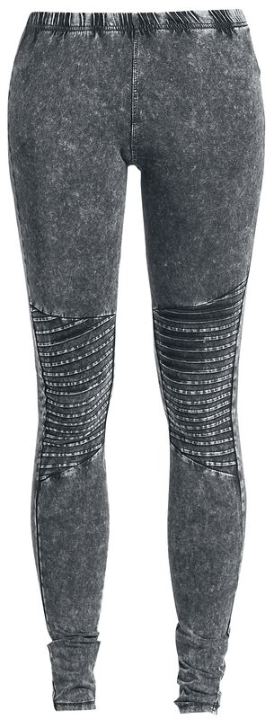 Ladies Denim Jersey Leggings