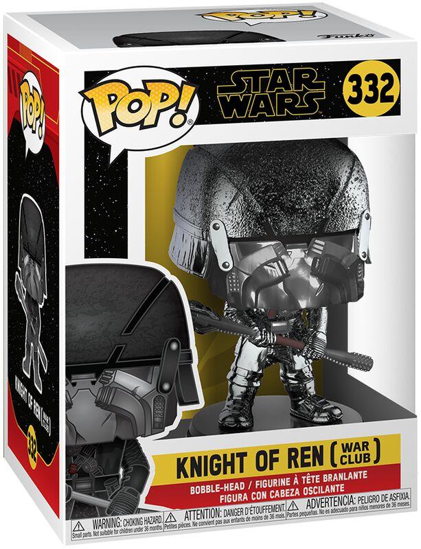 Episode 9 - The Rise of Skywalker - Knight of Ren (War Club) (Chrome) Vinyl Figure 332