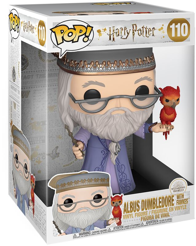 Dumbledore With Fawkes (Life Size) Vinyl Figure 110