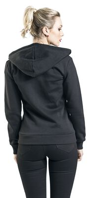Stay Safe Cherry Mask Hooded Zip-Jacket