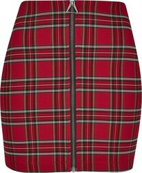 Ladies Short Checker Skirt