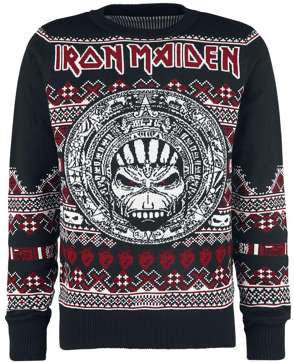 Holiday Sweater 2018 | Iron Maiden Christmas jumper | EMP