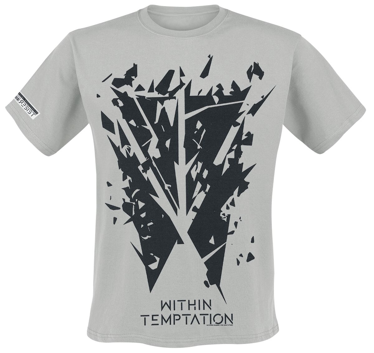 6fd0ea9c9e8e7 Shattered Logo | Within Temptation T-Shirt | EMP