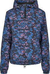 Ladies' Camo Pull Over Jacket
