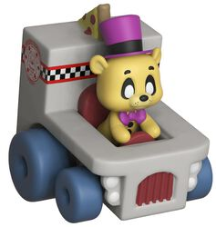 Super Racers  - Golden Freddy Vinyl Figure