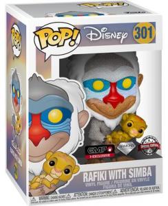 Rafiki with simba funko pop