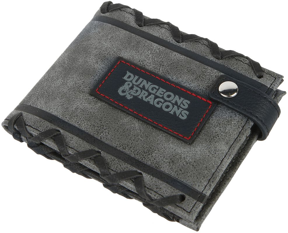 dungeons and dragons logo wallet