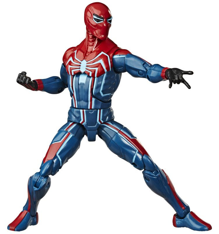 spider-man in velocity suit action figure