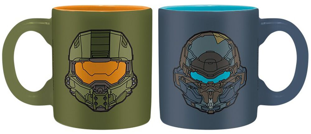 Halo - Espresso Cup Set - Master Chief vs. Locke